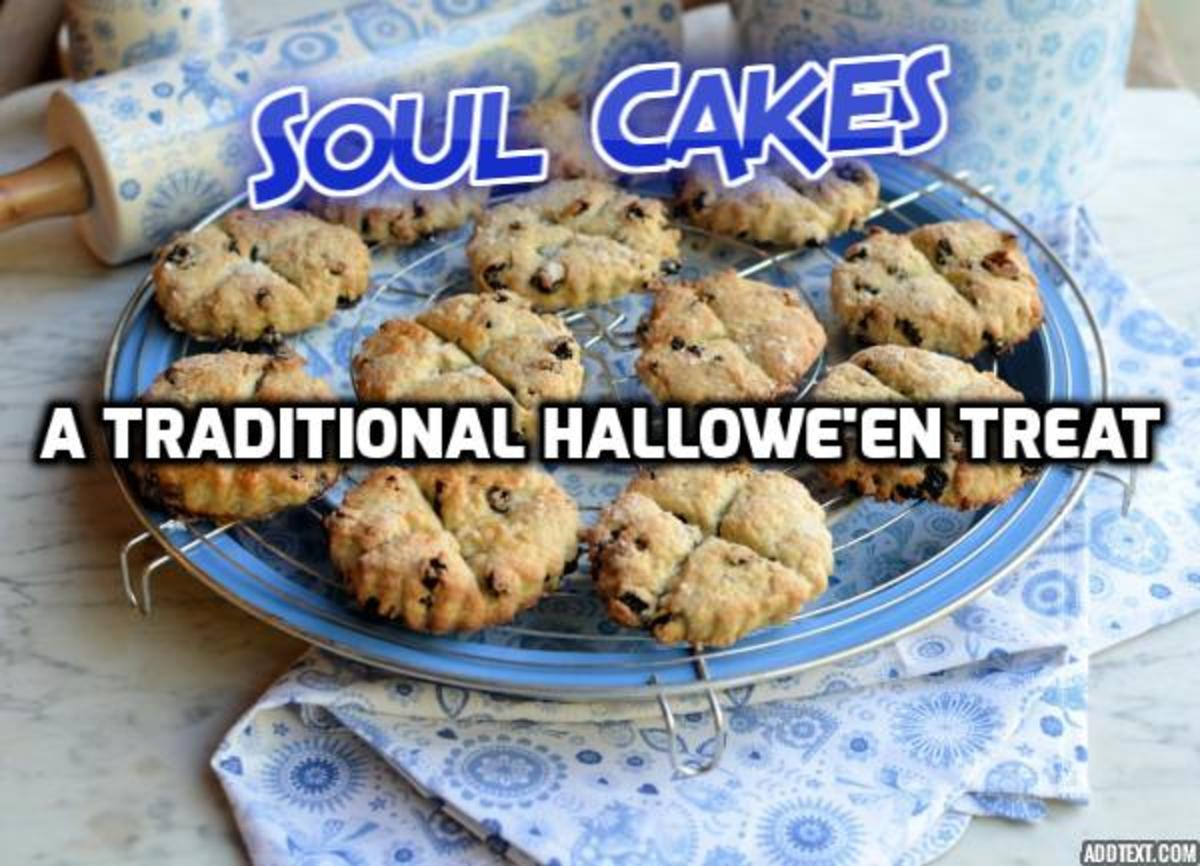 Soul Cakes and Halloween's History (Recipe Included)