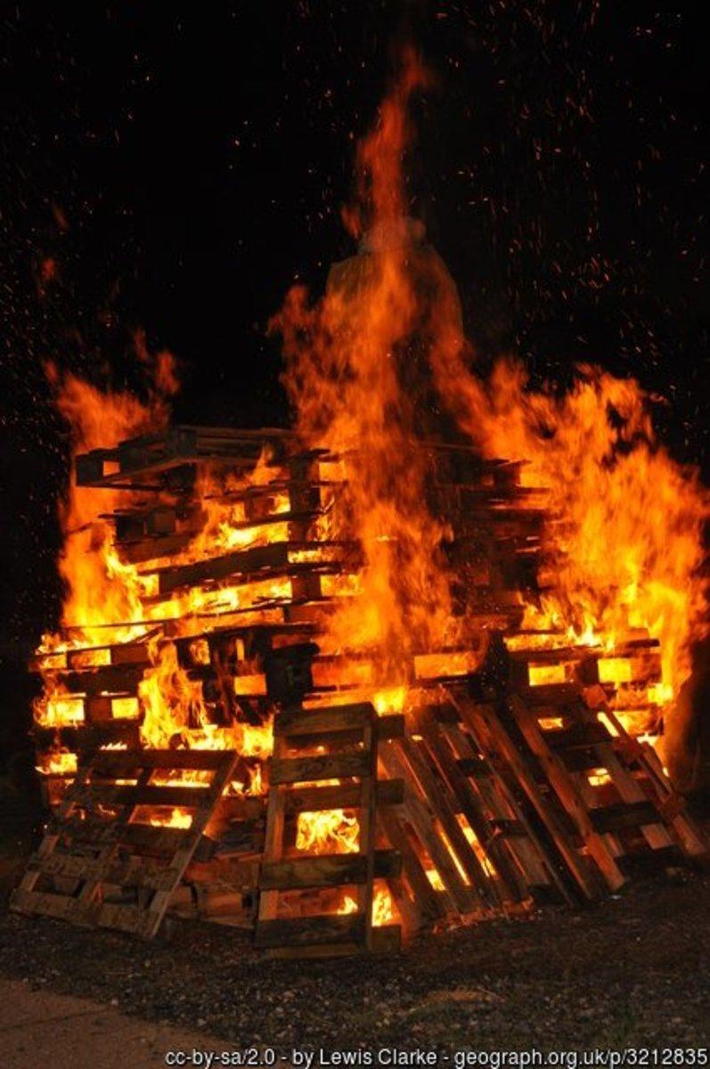 Bonfire Night at Tiverton Rugby Club