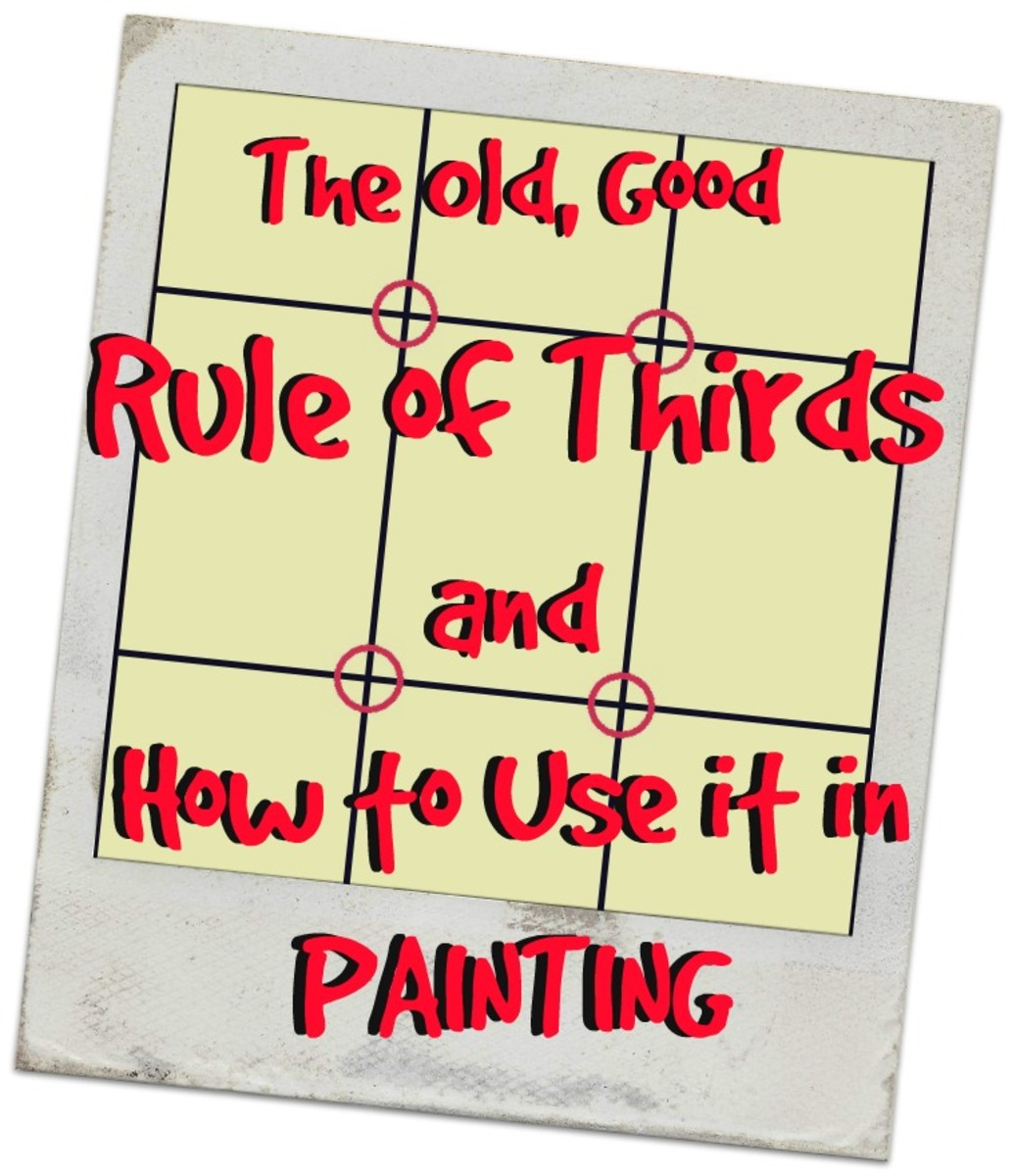 How to Use the Rule of Thirds in Painting Composition   FeltMagnet