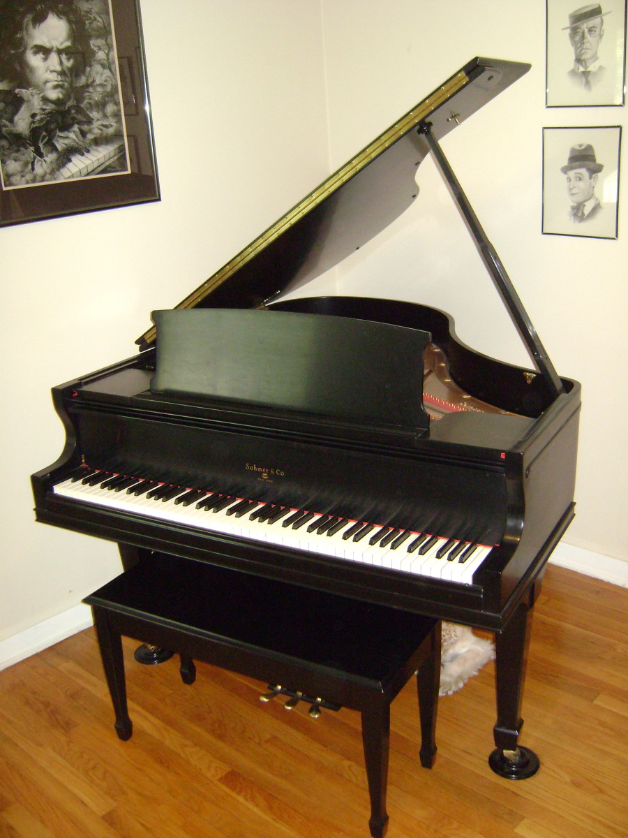 The piano that brought me so much joy.