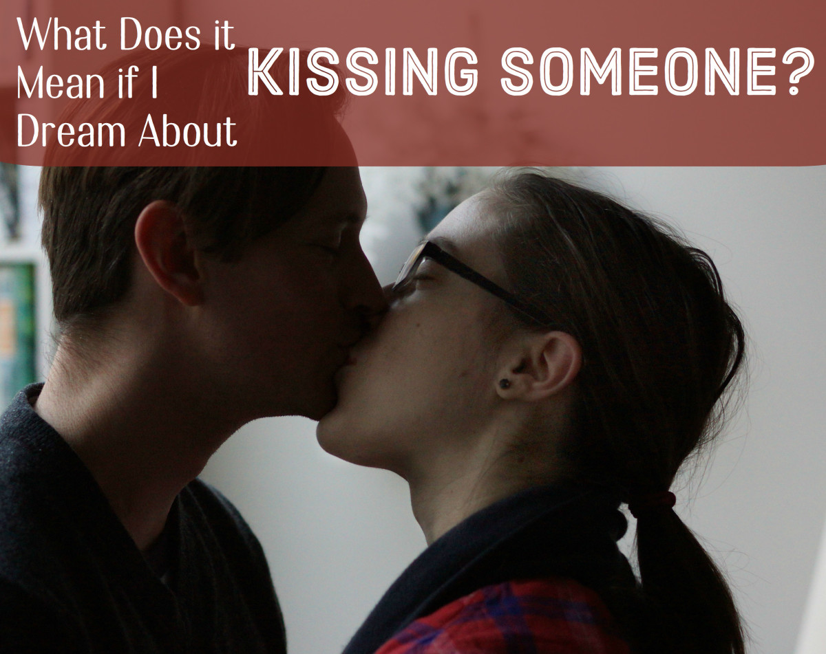 A dream about kissing someone can mean different things depending upon who you are kissing in the dream and where on their body.