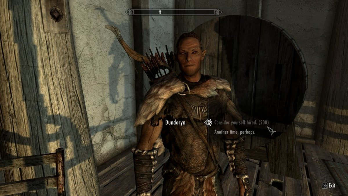How to Make a Custom Hireling in Skyrim