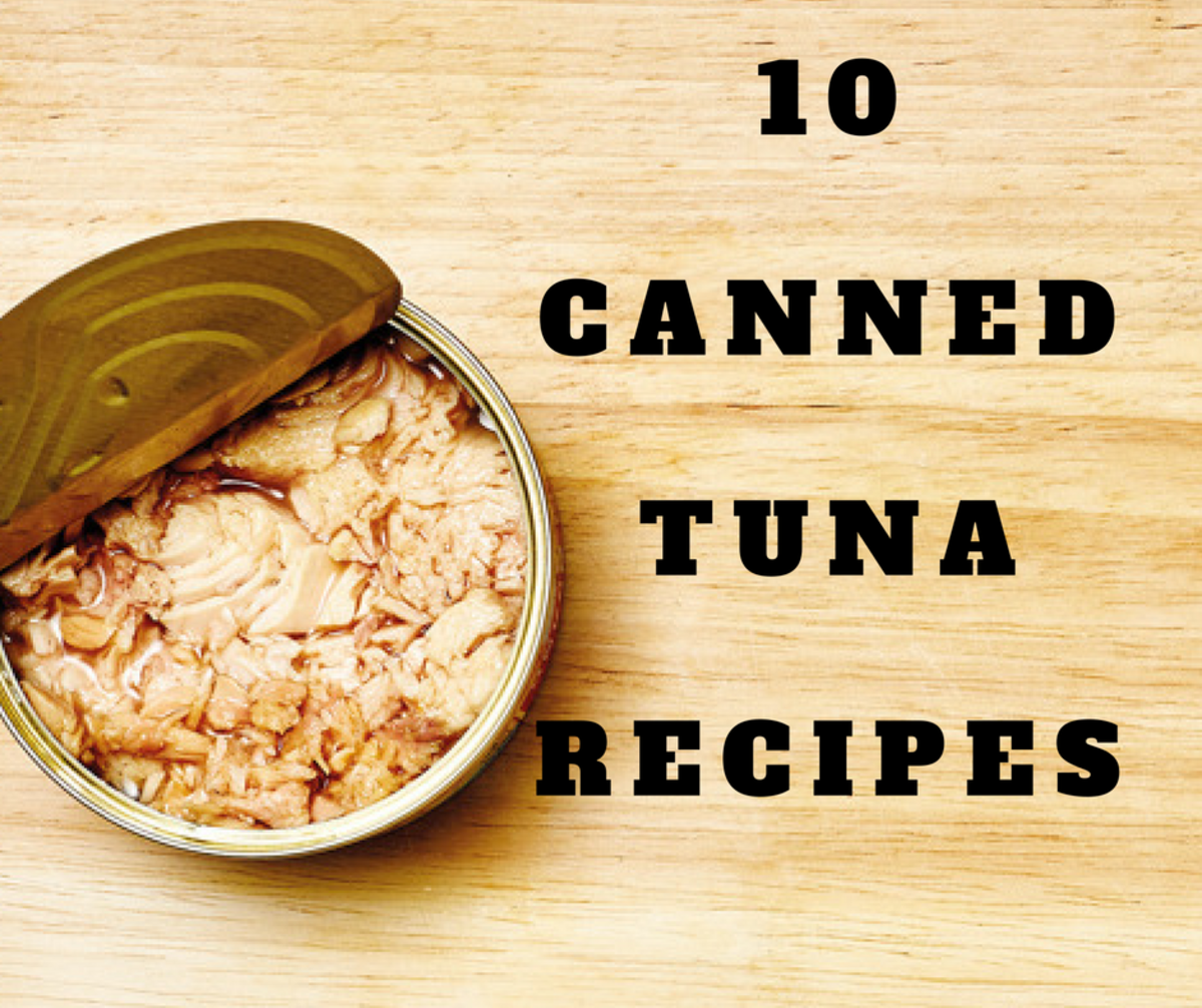 Canned Tuna: Main Dish, Side Dish, Salad, and Snack Recipes