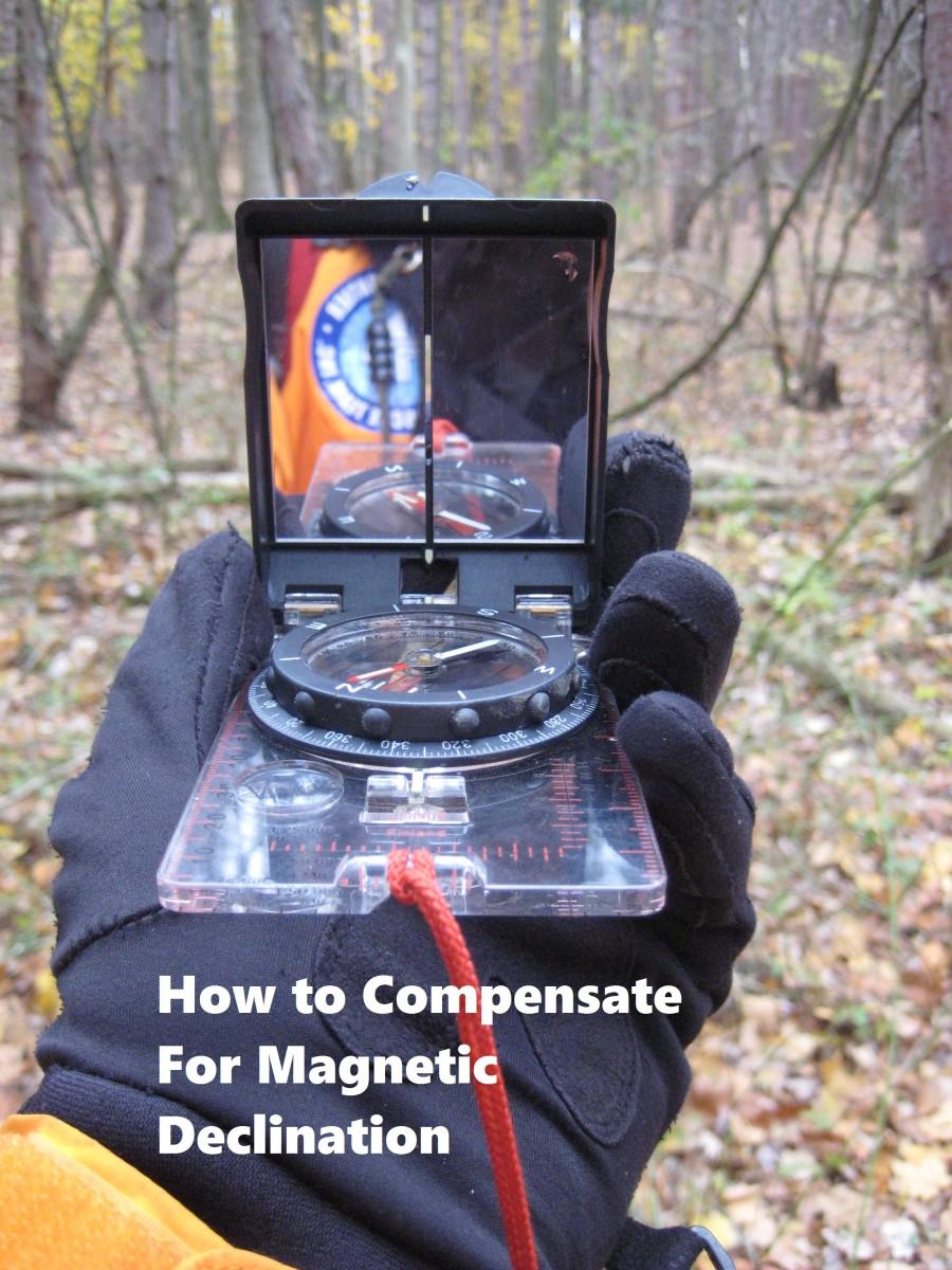 Navigating using the Silva Ranger compass.