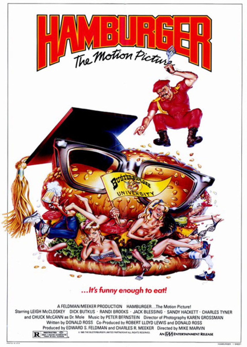 "Great Bad Movies: ""Hamburger, The Motion Picture"" (1986)"