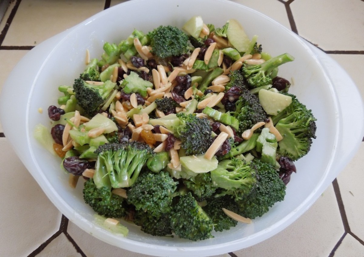 Eat Right for Your Type Broccoli Salad