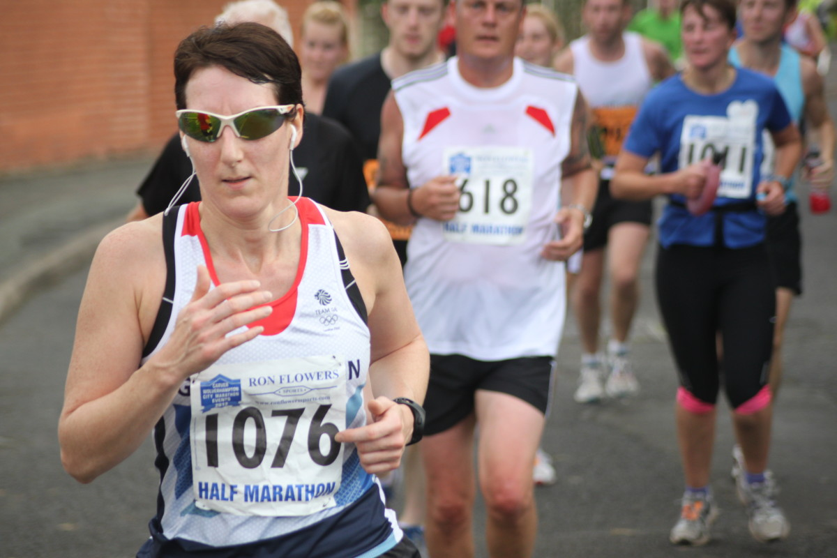 A guide to the physiology of elite marathon runners. Photo taken from the 2012 Carver Wolverhampton Marathon.
