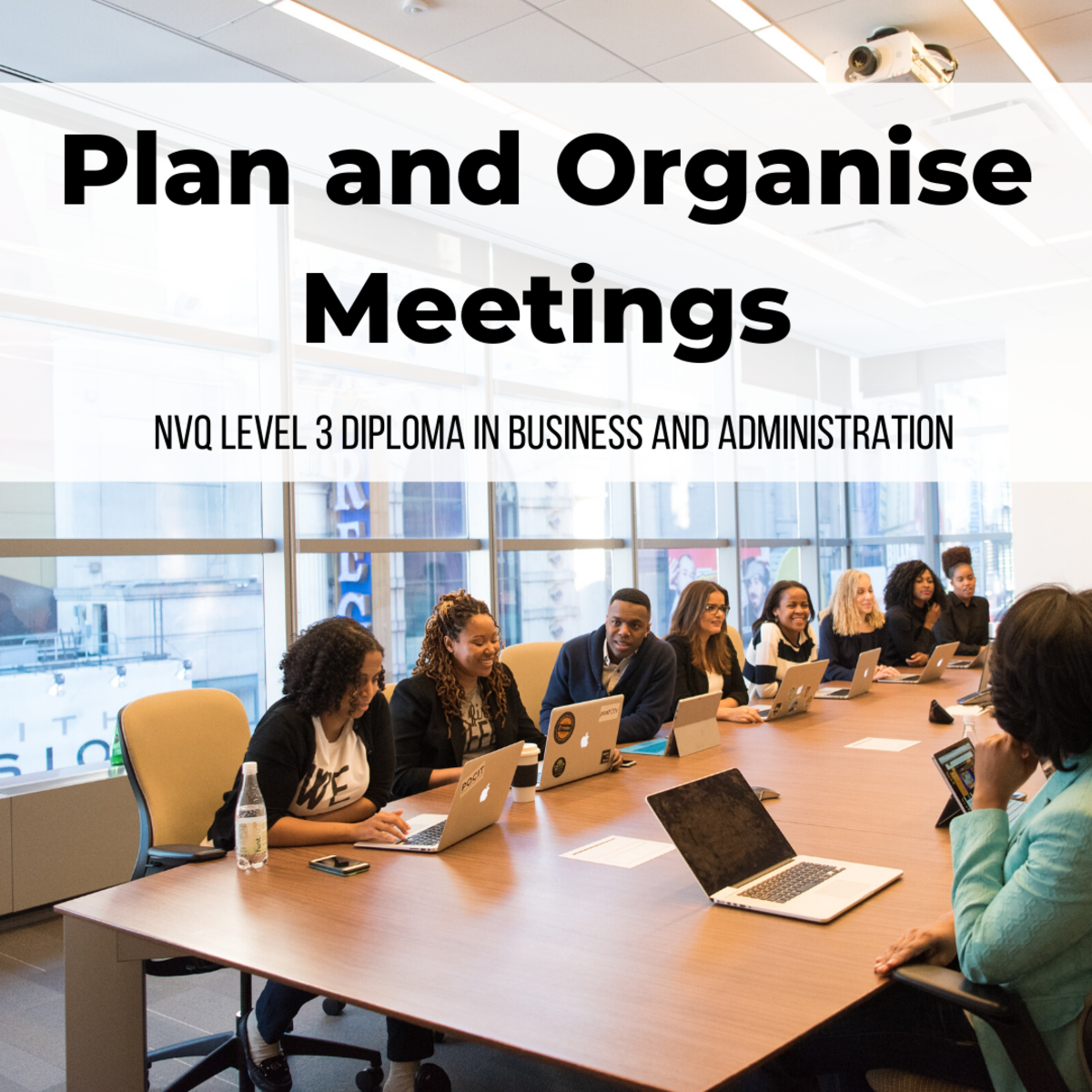 Review important aspects of planning and organising meetings in this unit.