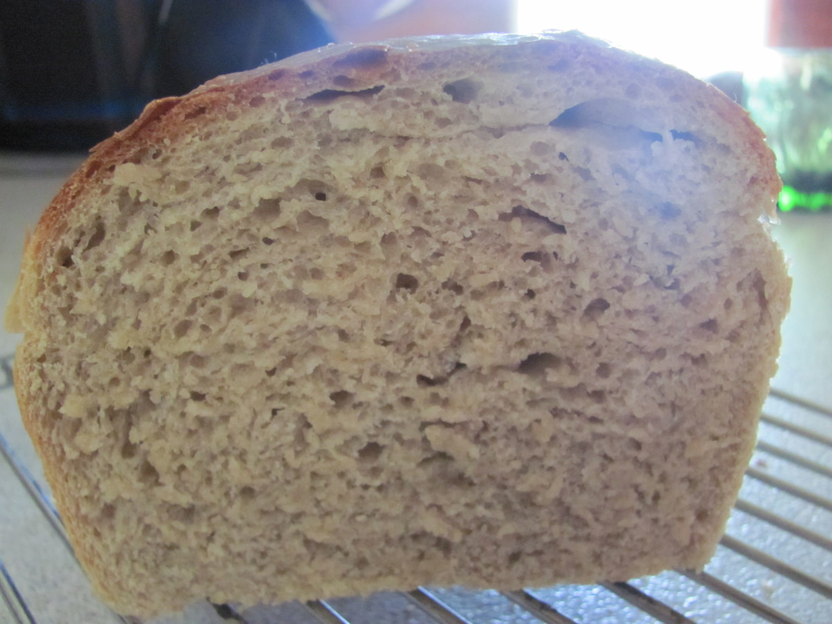 SALLIEANNE'S TRUB BREAD -  A Wonderful Yeasty Bread Made Using Beer Trub