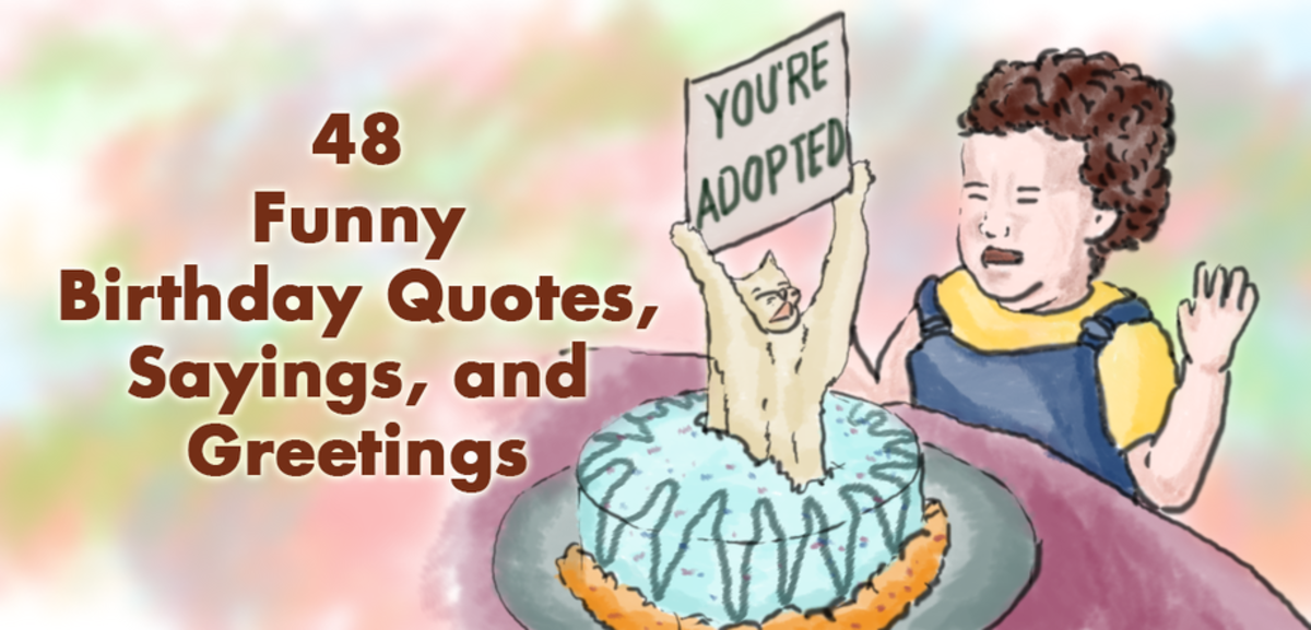 48 Funny Birthday Quotes, Sayings and Greetings