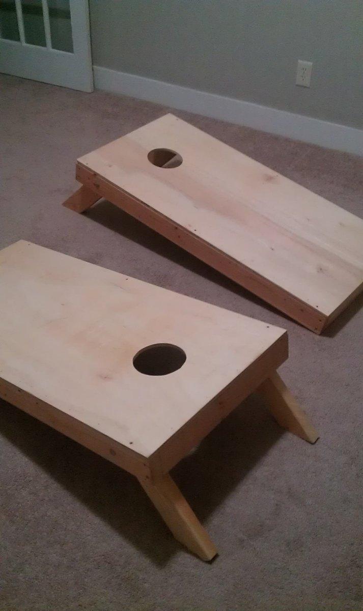 DIY Paint Your Cornhole Boards | HobbyLark