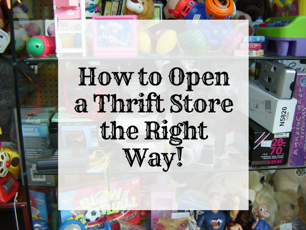 Learn methods for how to open a thrift store the right way.