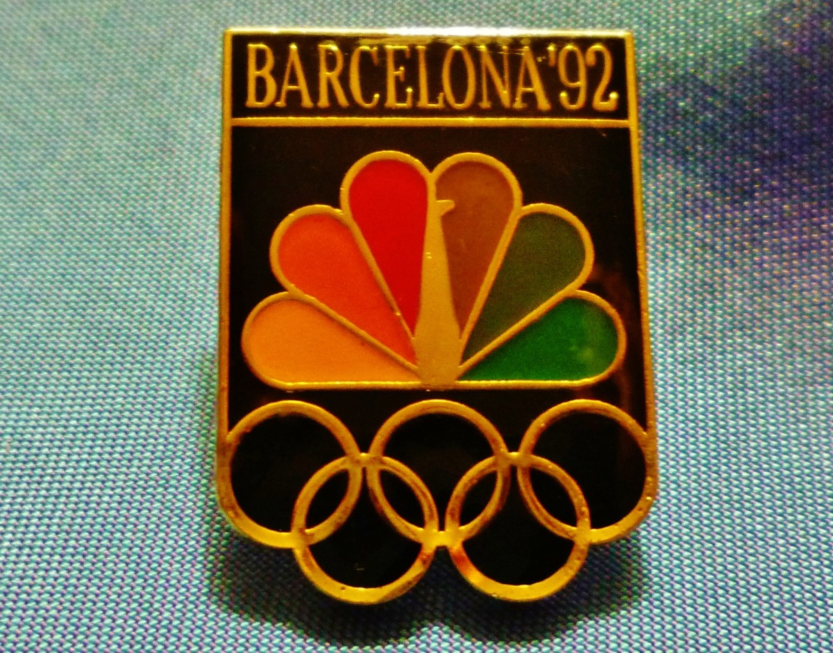 1992 Olympic Sponsor Coke Pin