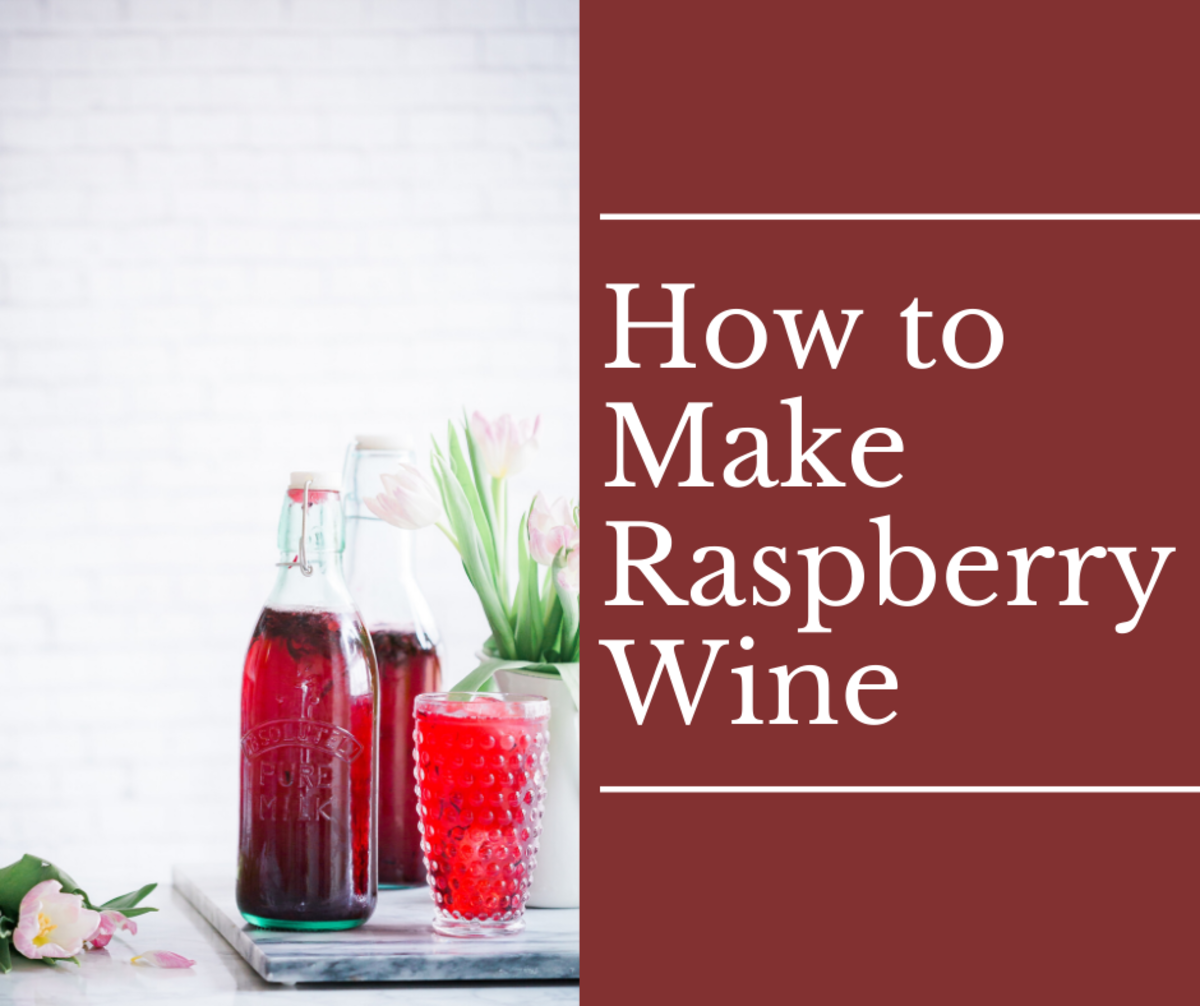 This raspberry wine is great for many occasions.
