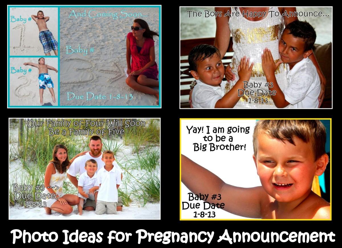 Creative Photo Ideas for Pregnancy Announcement