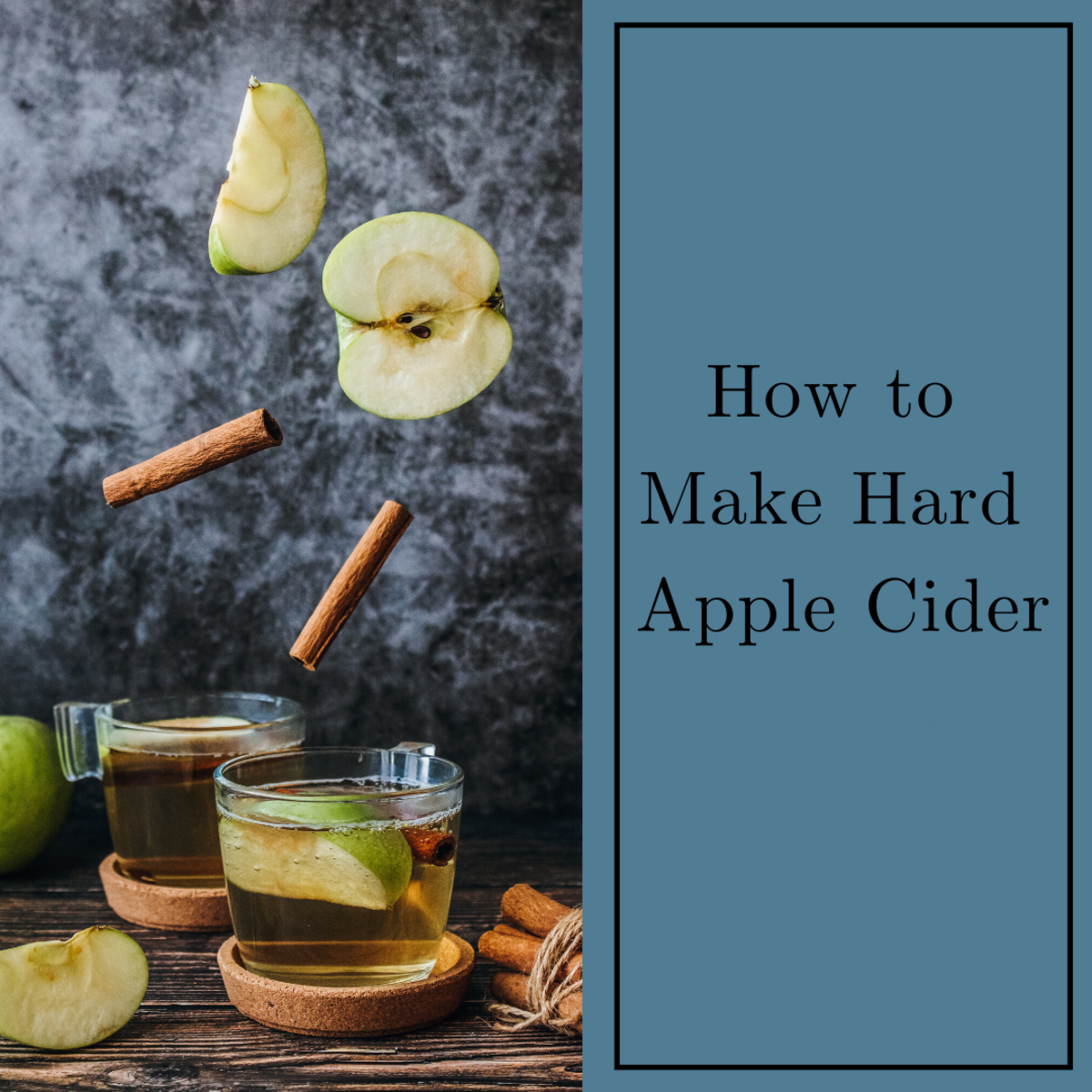 This article provides a simple hard apple cider recipe.