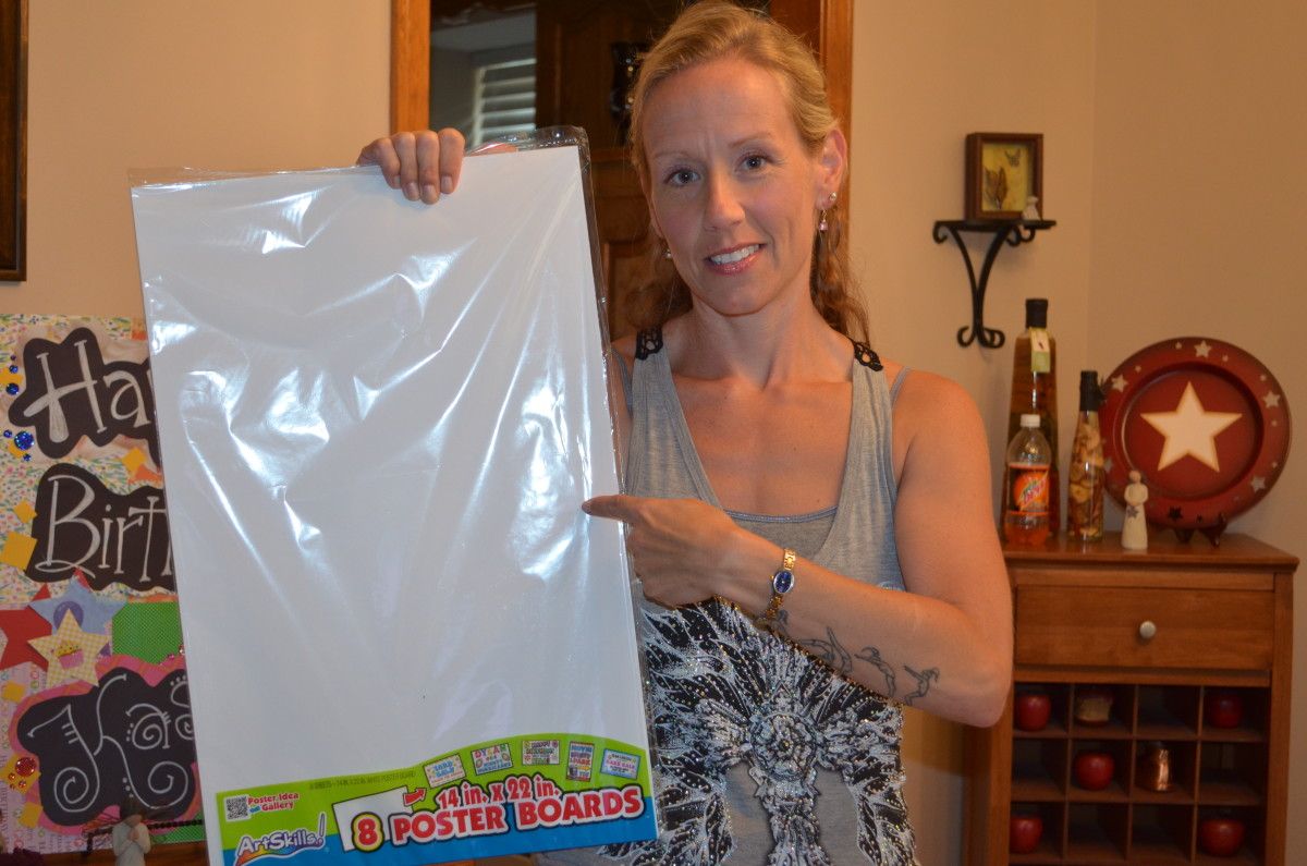 How to Make Giant Greeting Cards