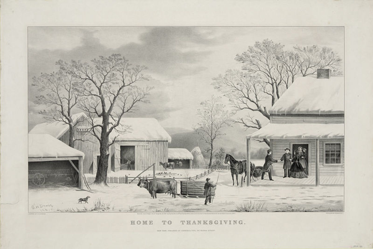 Lithograph by Currier and Ives, 1867
