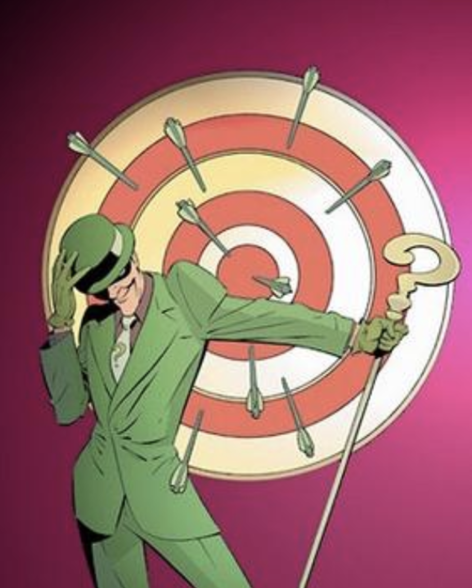Cover of Green Arrow vol. 3, 35 (Apr, 2004). Art by Marcos Martin,