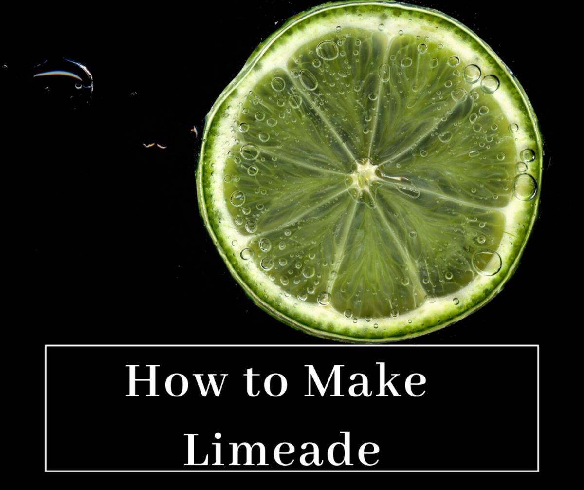 This limeade recipe is the absolute best!