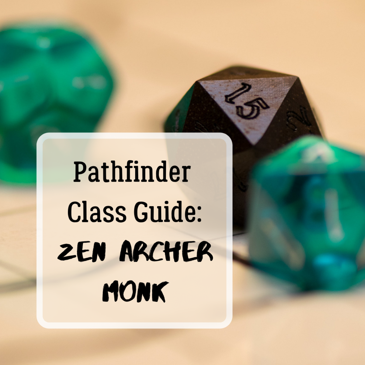 A Guide to the Zen Archer Monk (Pathfinder)
