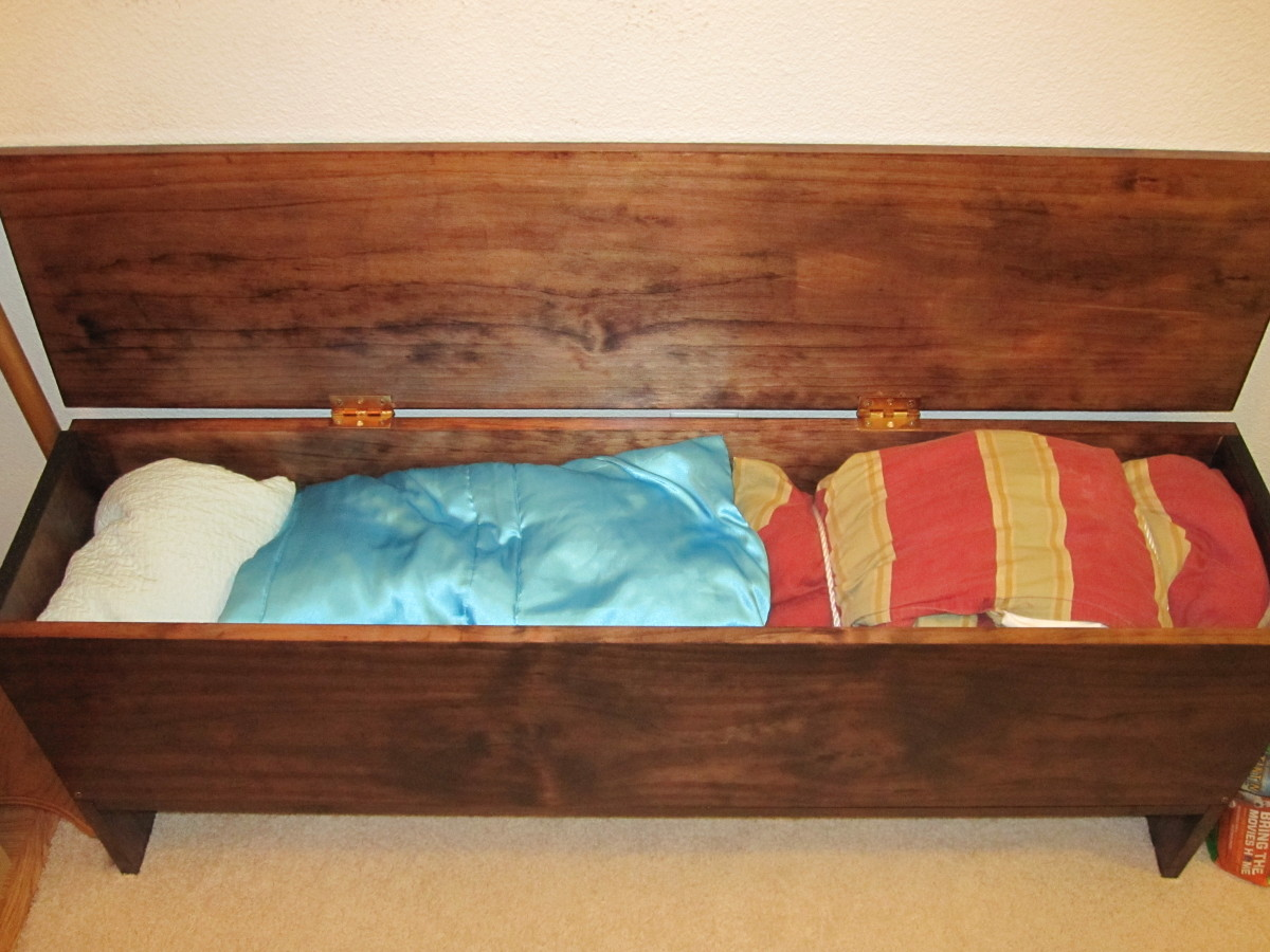 DIY Storage Bench. How to build your own functional piece of furniture ...