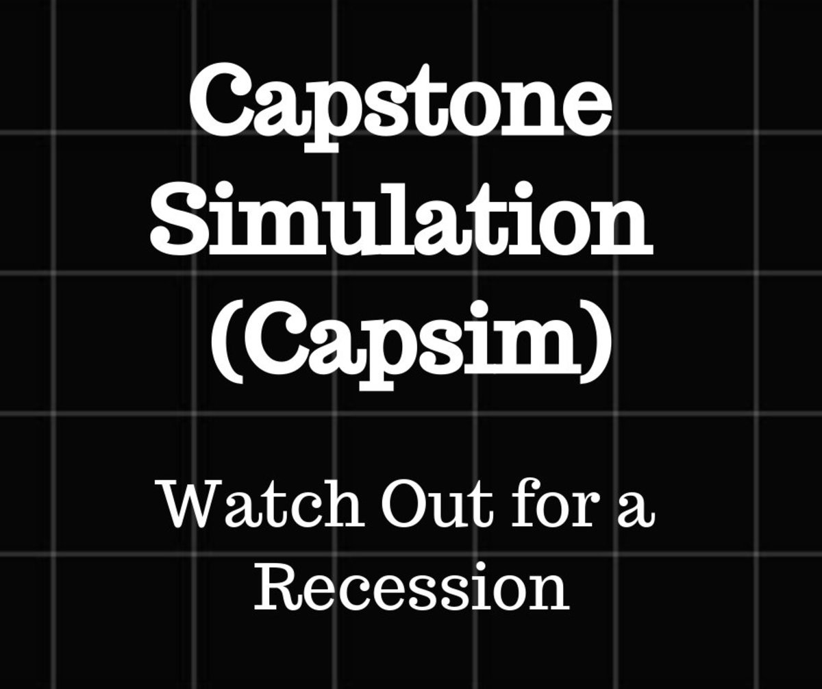 Capsim Simulation:  Beware of a Recession