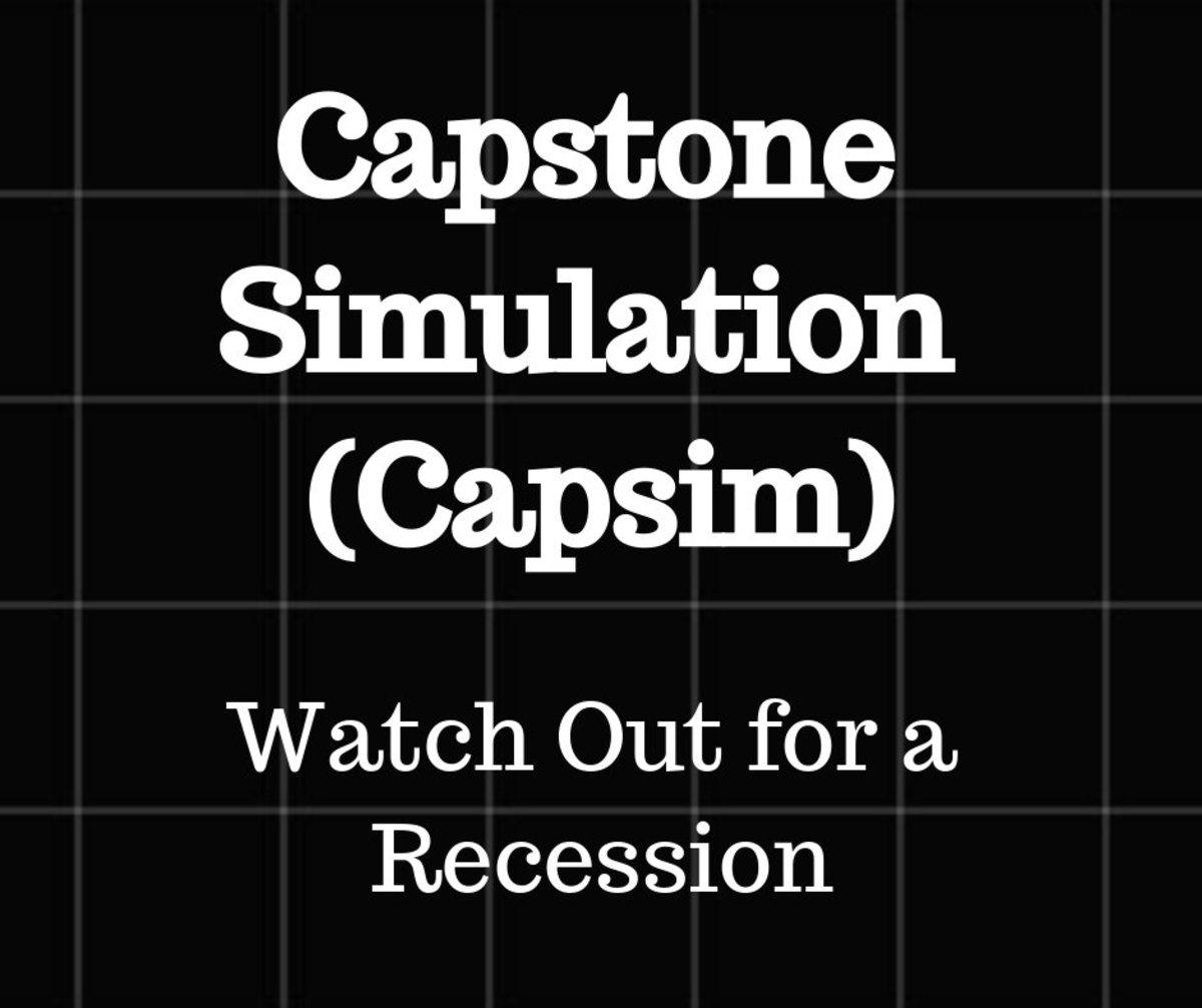 Capstone sensor industry simulation Homework Academic
