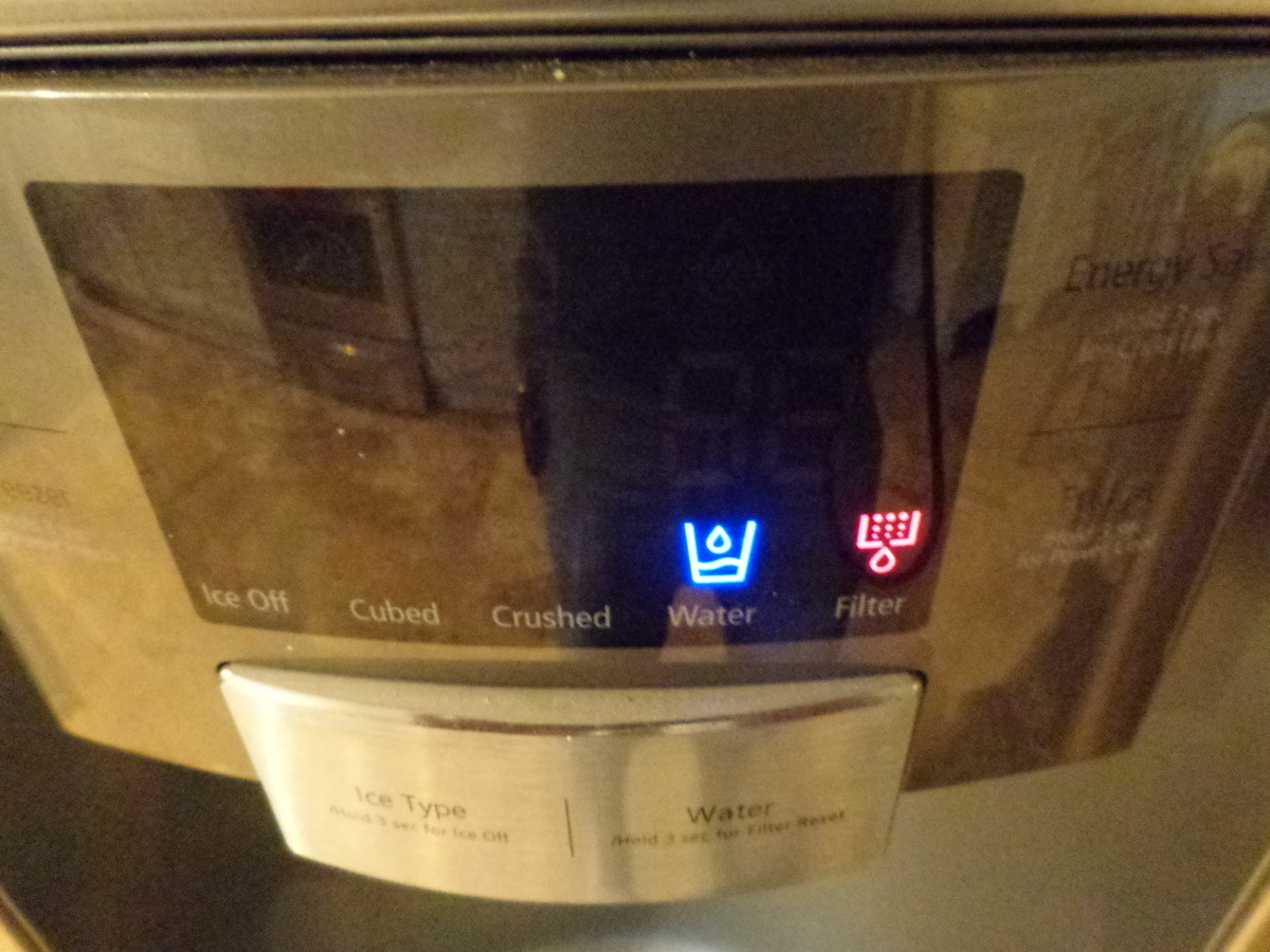 How To Change The Water Filter Of A Samsung Twin Door