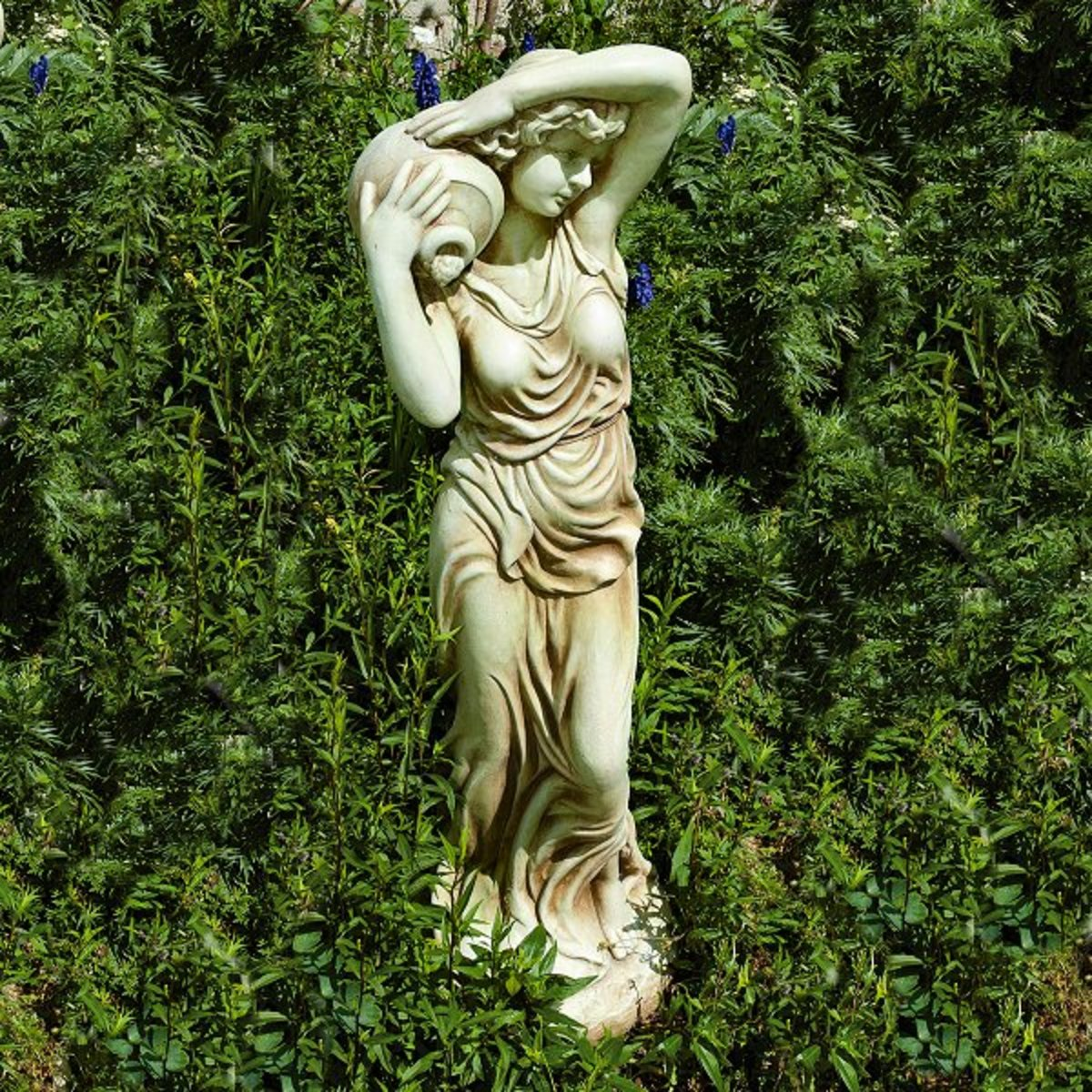 How to Make a New Garden Ornament Look Antique