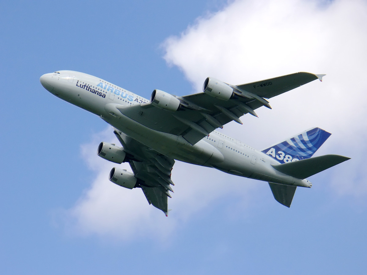 The Airbus A380, an incredibly complex machine that relies on a huge amount of automation