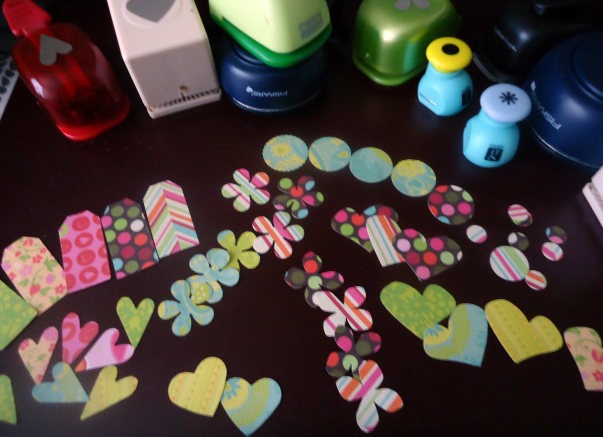 Easy Crafts Using Scrapbook Paper