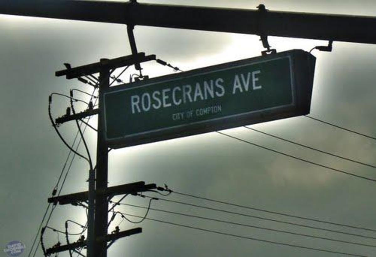 Rosecrans Avenue: Five Cinquain Poems
