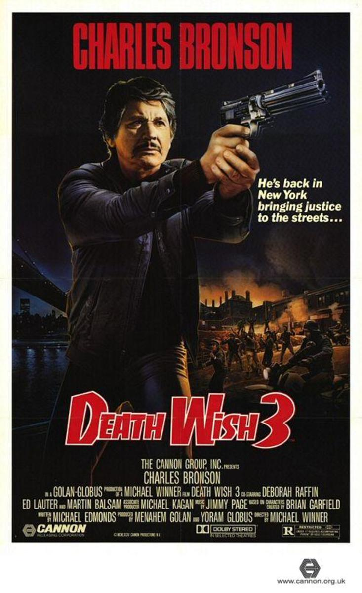 Original US Poster for 'Death Wish 3.'
