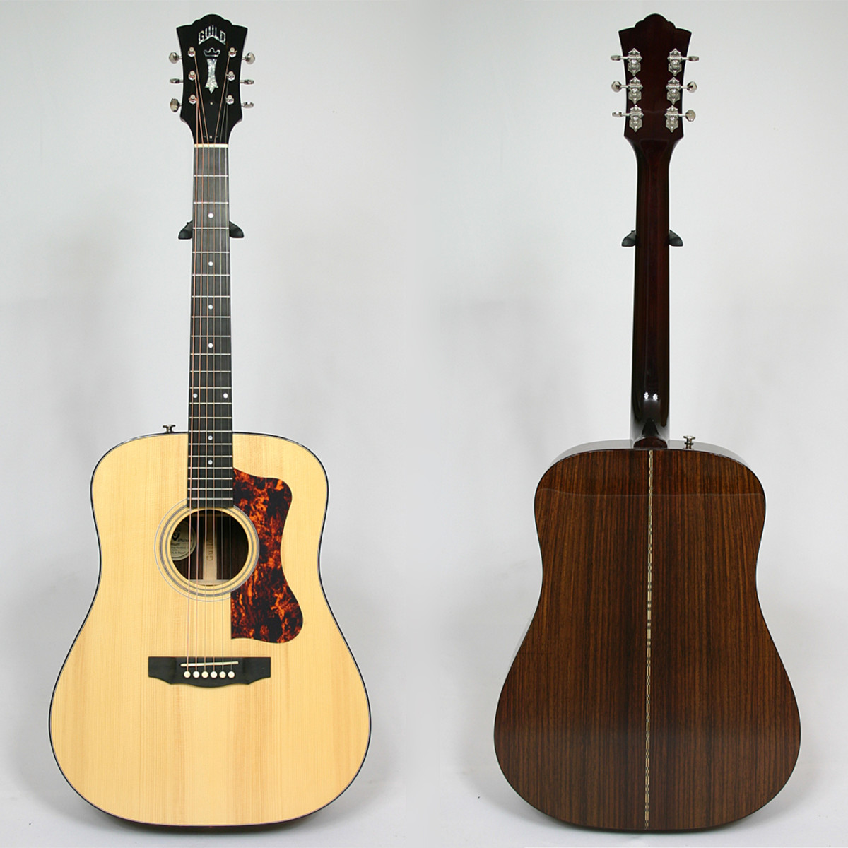 The Guild D-50 Bluegrass Special, front and back.