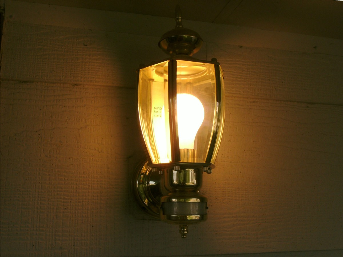 Outdoor motion sensor lighting will increase security and save energy while providing light for your own needs at the same time.