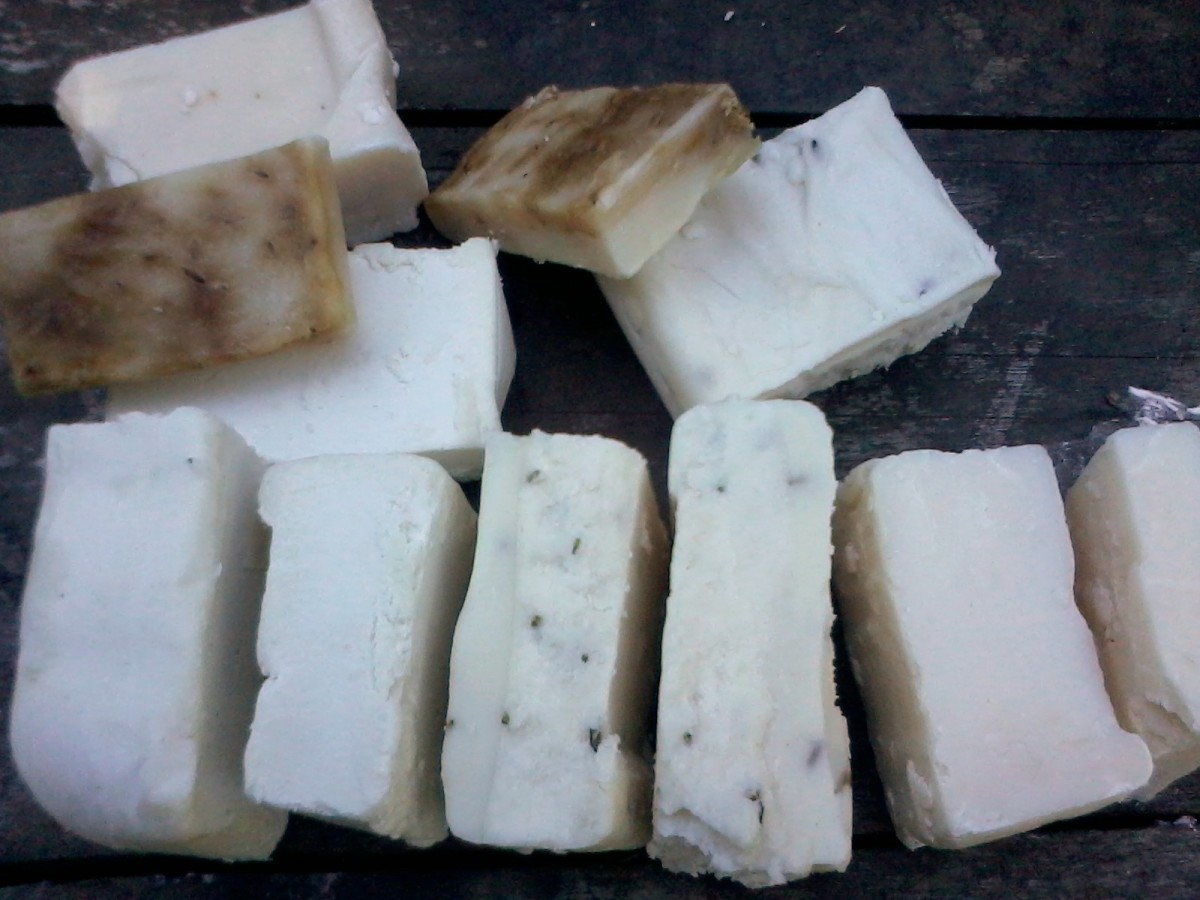 Home Made Soap Made Easy, with Recipes for Natural Soap