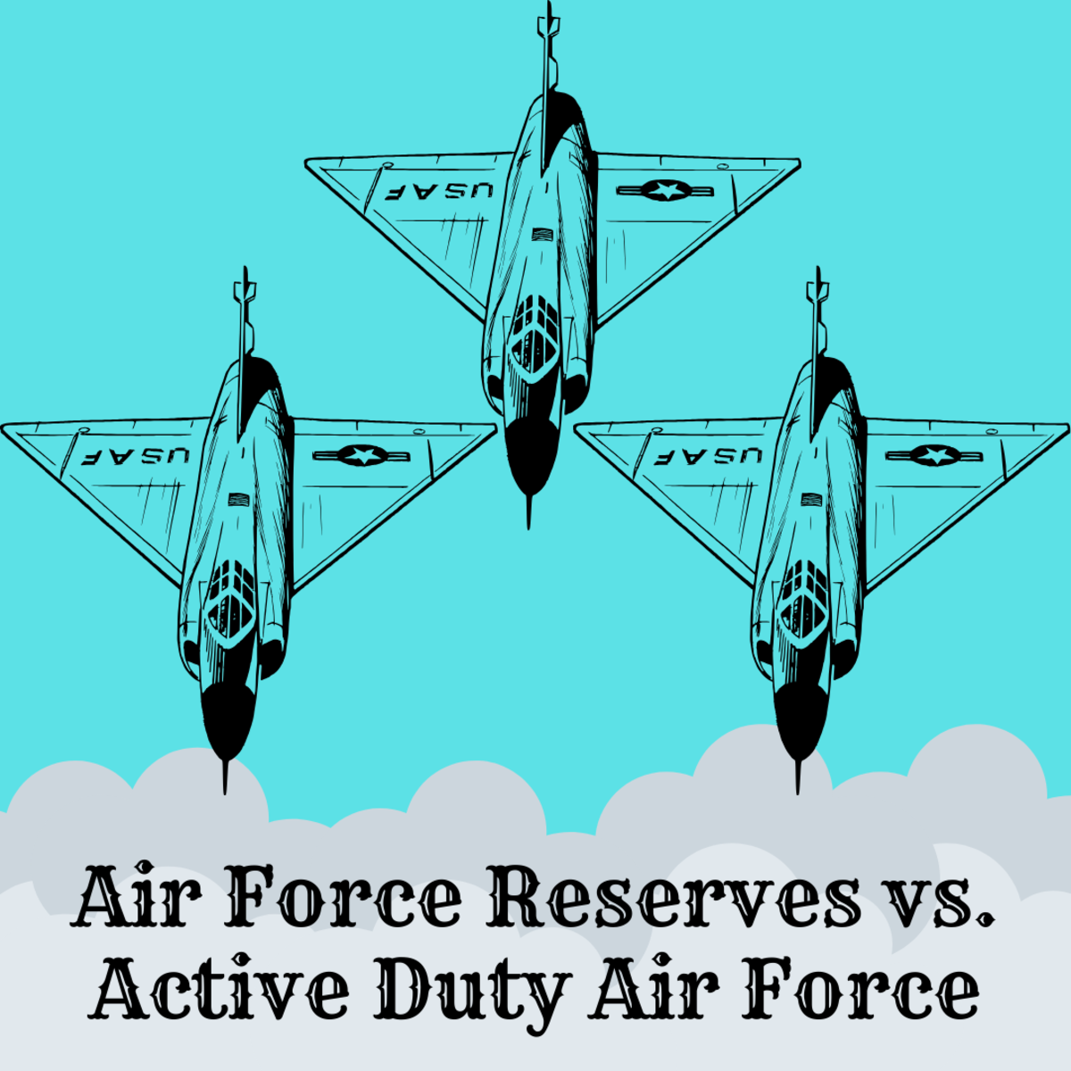 Air Force Reserves vs. Active Duty Air Force