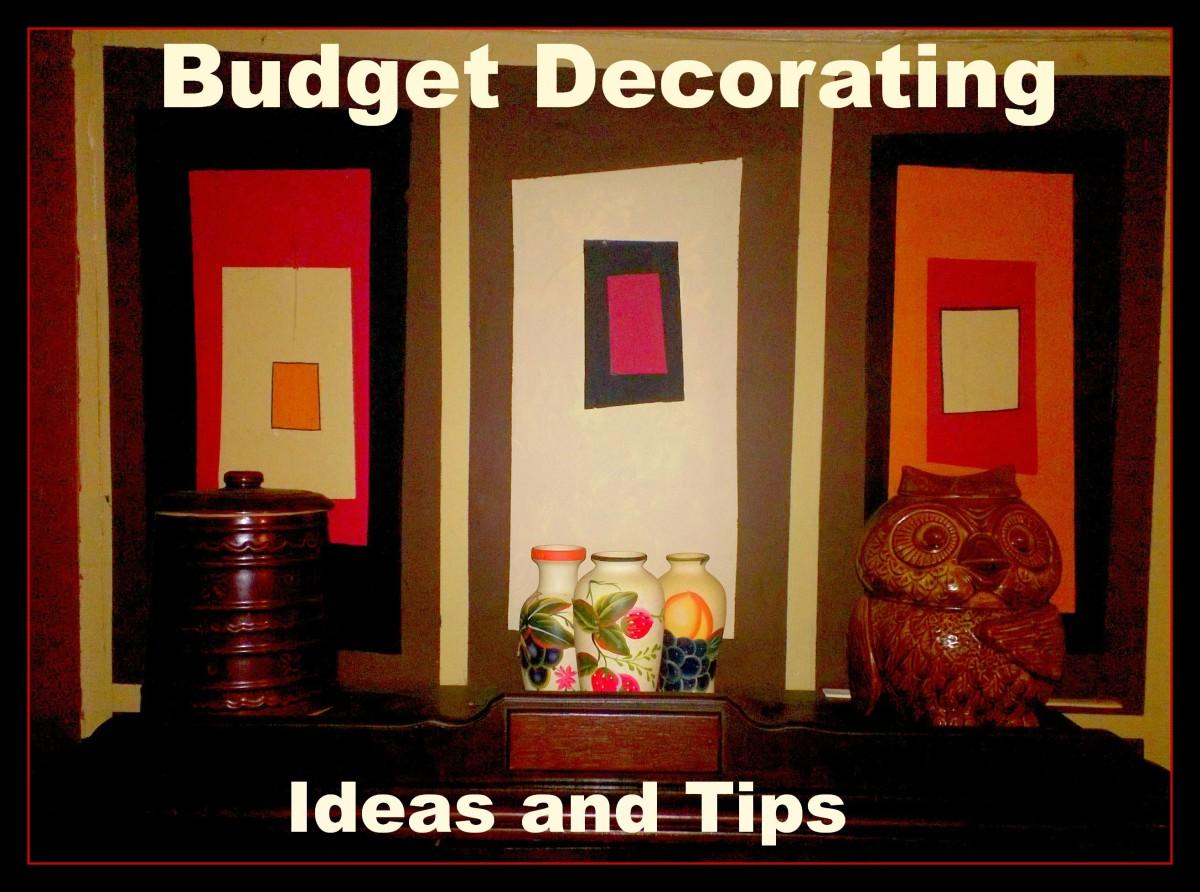 Easy Budget Decorating Ideas
