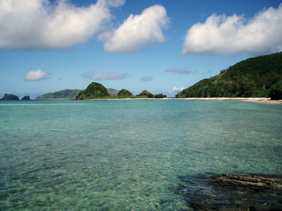 A perfect spearfishing and snorkeling place. Location: Zamami Island, Japan
