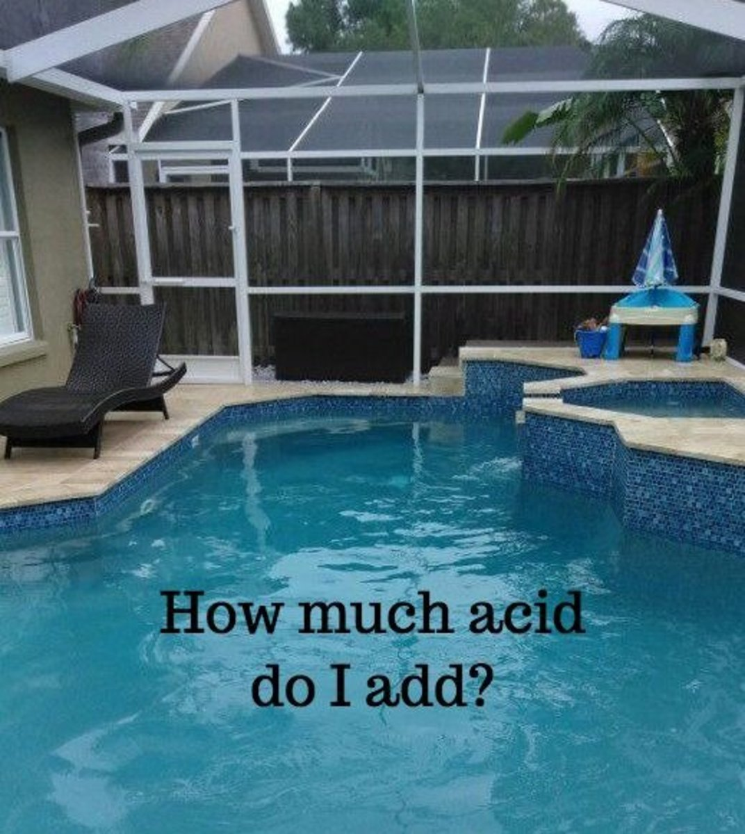 How Much Muriatic Acid to Add to Adjust Swimming Pool pH