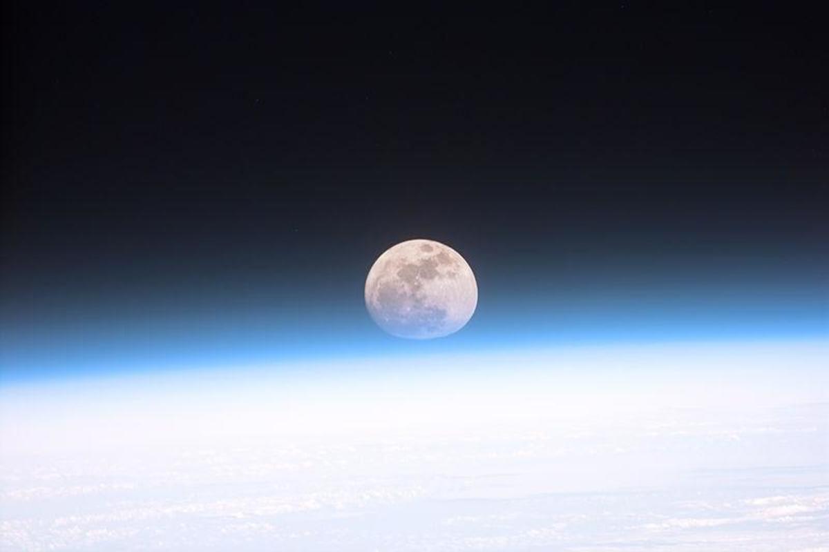 A beautiful Moon Shot by NASA!  Breathtaking!