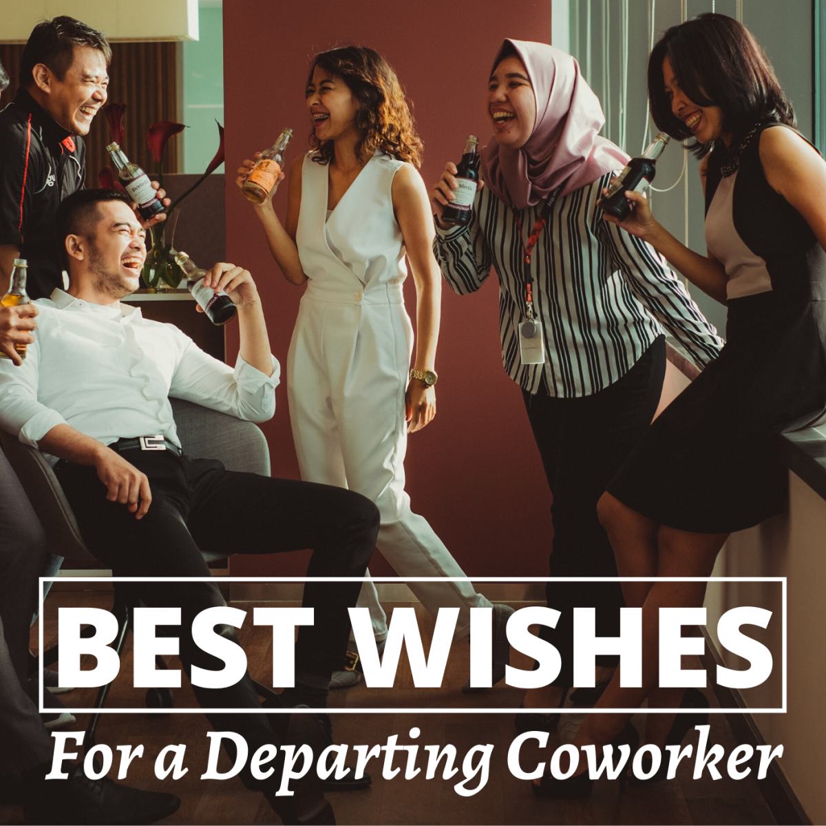 The departure of a boss, colleague, or coworker is always bittersweet. Send them off the right way with a thoughtful message or speech.