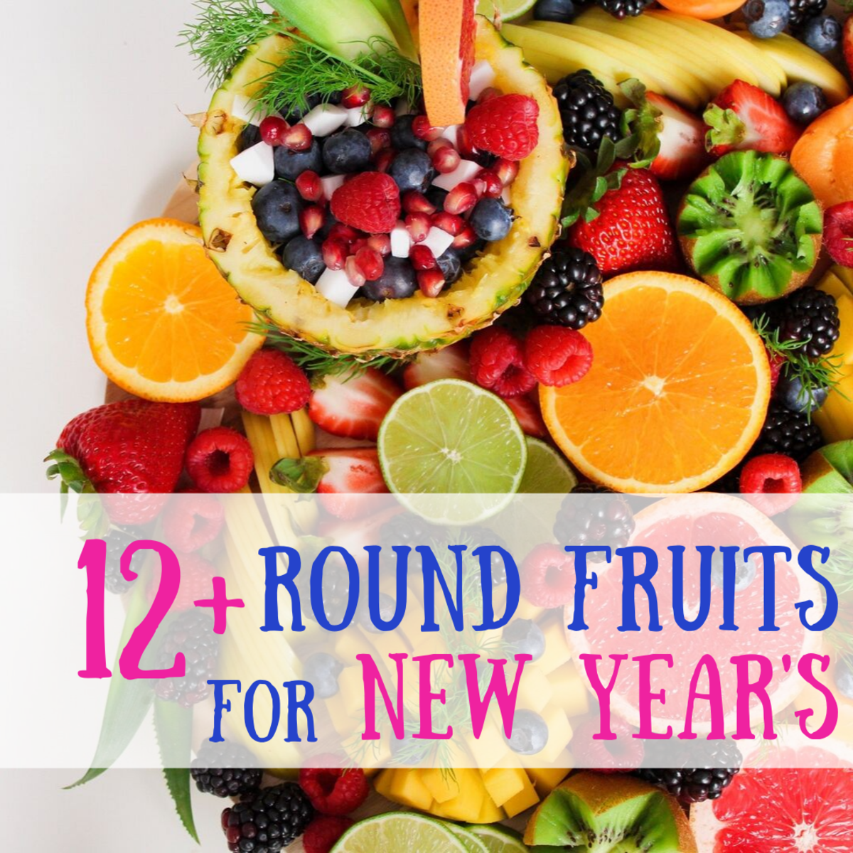 It's a Filipino tradition to welcome the new year by serving 12 circular fruits.