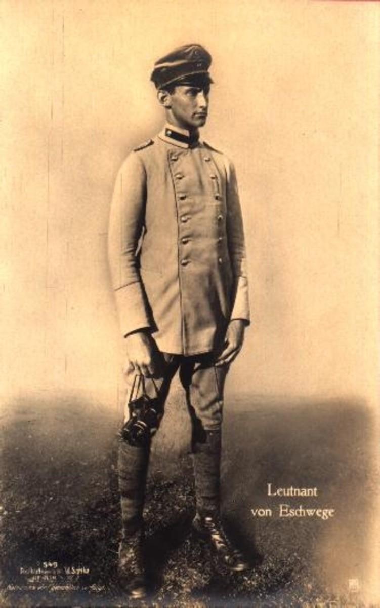 About World War 1: Rudolf von Eschwege— The
