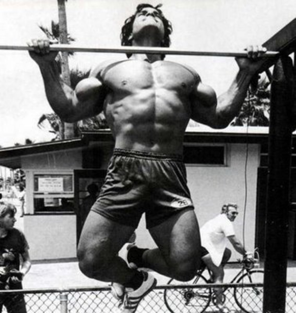 Pull-ups are a great bodyweight exercise