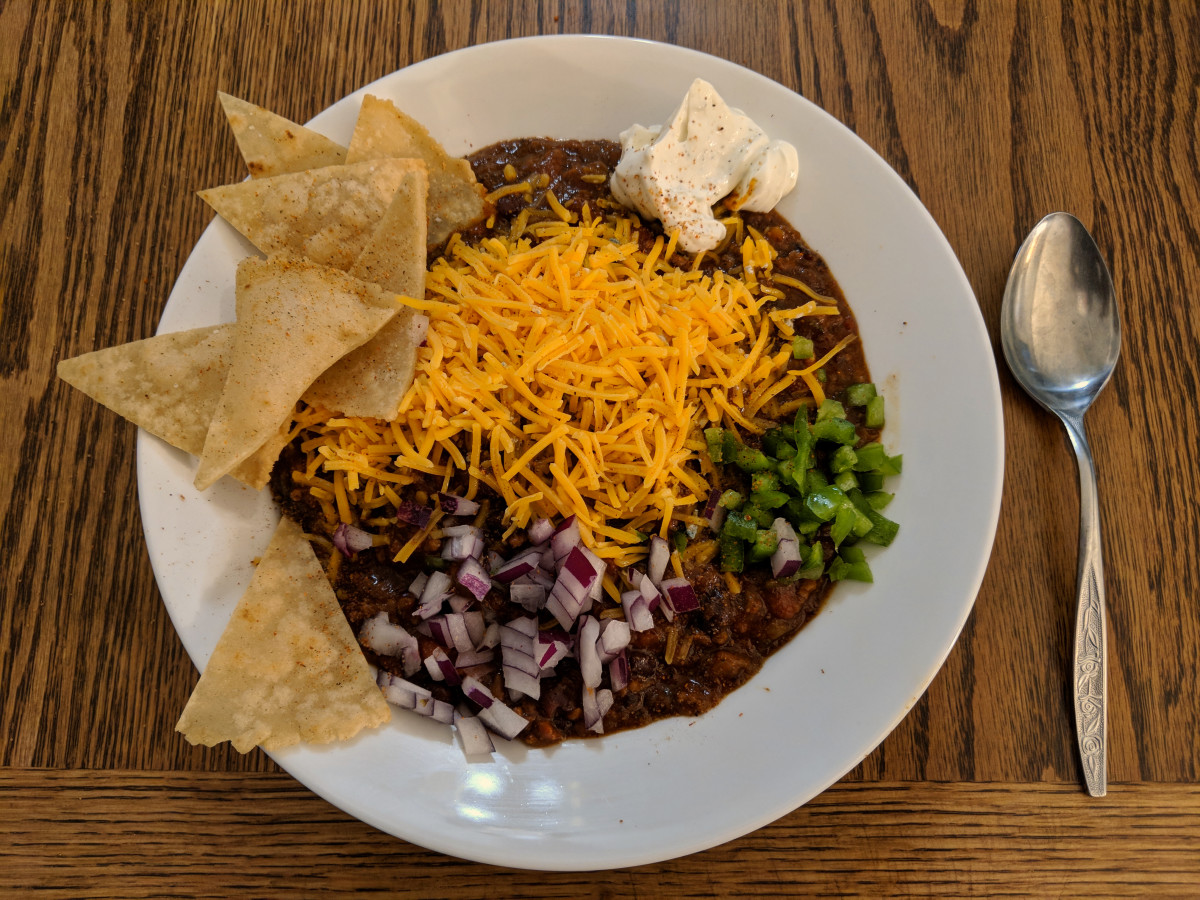 Easy Crockpot Venison Chili