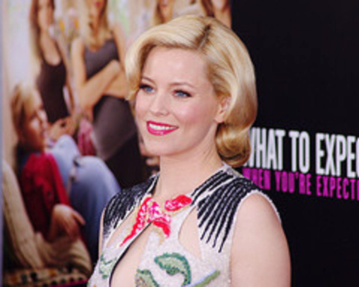 Elizabeth Banks, who played Wendy in What to Expect When You're Expecting, the movie.