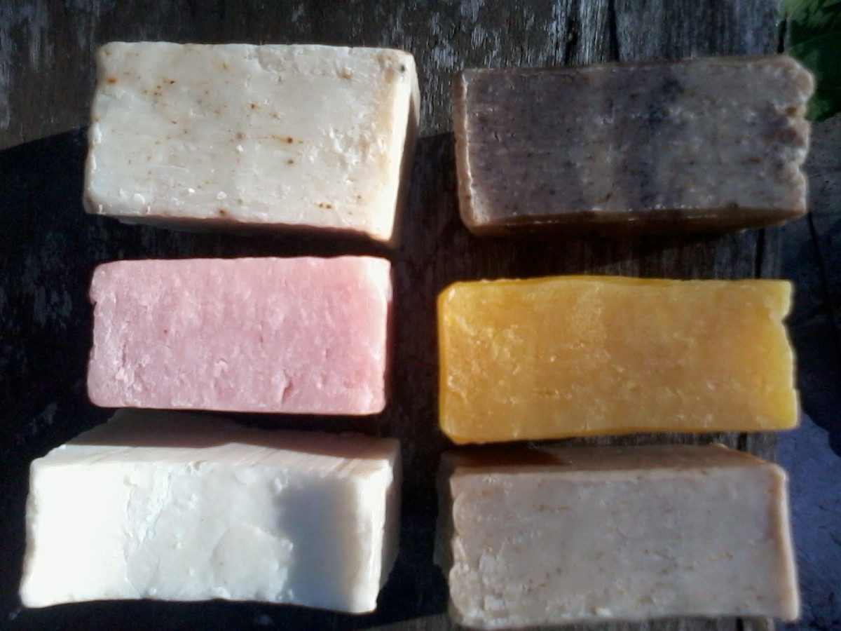 Adventures in hot process soap making