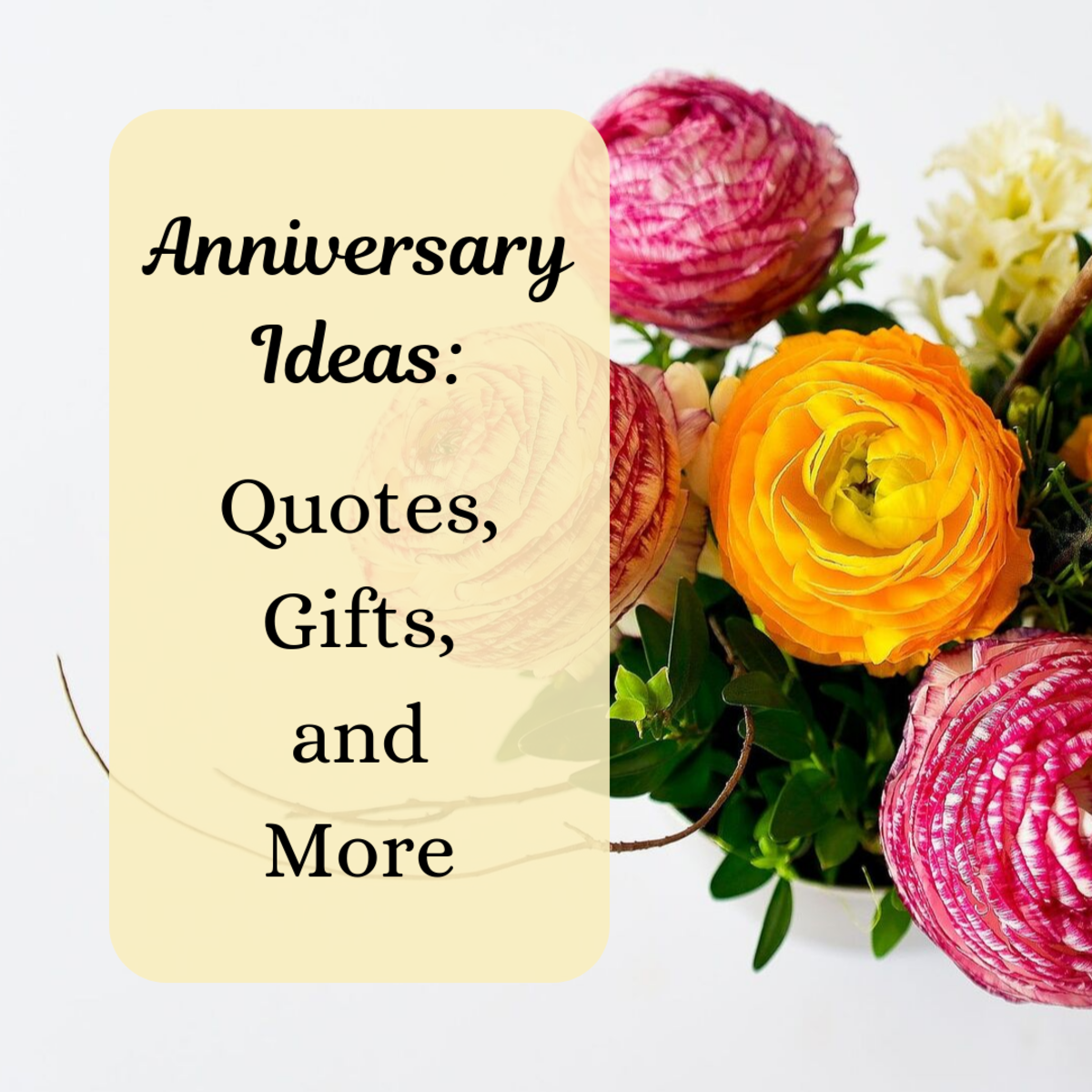 Whether you have some time to plan or you're searching for anniversary ideas at the last minute, find some suggestions for celebrating your love!